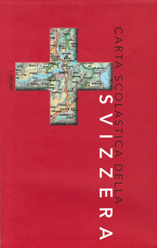 La Cartina Geografica Della Svizzera.Cartine Geografiche Cartina Geografica Della Svizzera